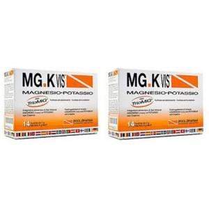 MG.K Vis Magnesio Potassio  e Creatina 14 Bustine OFFERTA 2x1