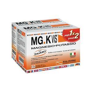 MG.K Vis Magnesio Potassio e Creatina 30 Bustine OMAGGIO confezione da 14 bustine