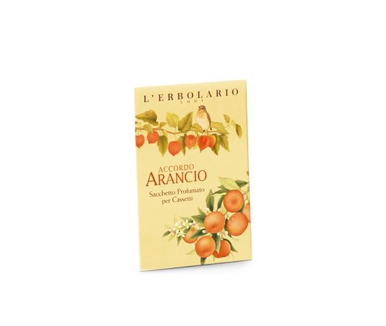Accordo Arancio Sacchetto profumato per cassetti 1 pezzo