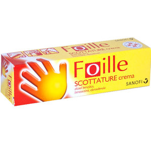 Foille scottature crema 100 g