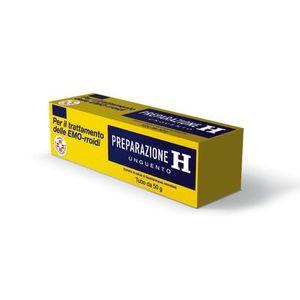 Preparazione H unguento per il trattamento delle emorroidi 50 g