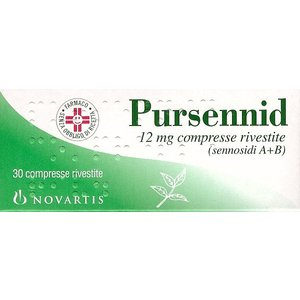 Pursennid 30 compresse 12 mg