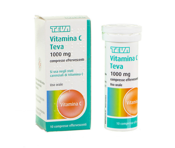 Vitamina C Teva 10 compresse effervescenti