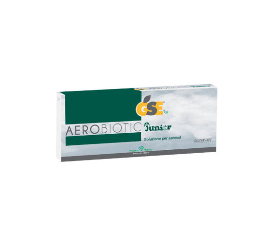 GSE Aerobiotic junior gluten free 10 fiale da 5 ml