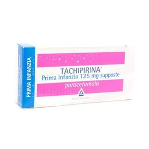 Tachipirina Prima infanzia 125 mg 10 supposte