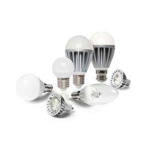 Assortimento di lampadine a led