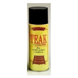 Cera Teak lucidante spray 400 ml.