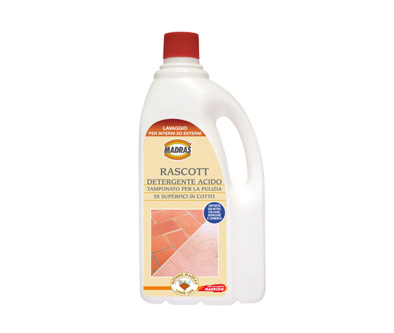 Rascott detergente acido per la pulizia di superfici in cotto 1 LT.