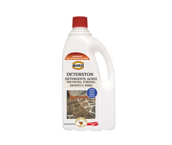 Deterston detergente acido per pietre, porfido, granito 1 LT.