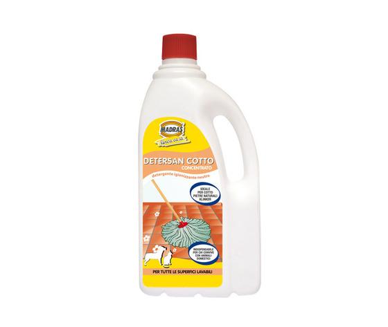 Detersan cotto detergente neutro per cotto, pietre naturali e klinker 1 LT.