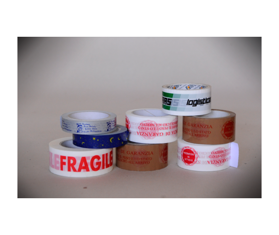 """Nastro adesivo stampato """"FRAGILE"""" LN mm 50x 66 m"""
