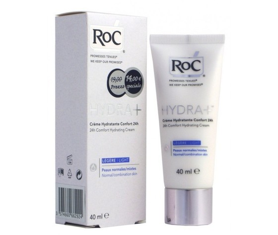 RoC Hydra + Crema Idratante Comfort 24h