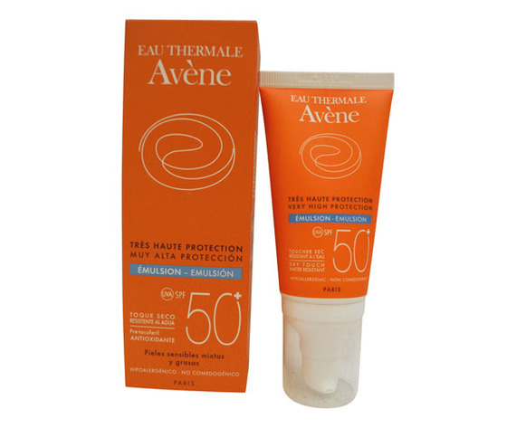 Avène - Emulsione Viso Protezione Solare SPF50+ - Confezione da 50ml