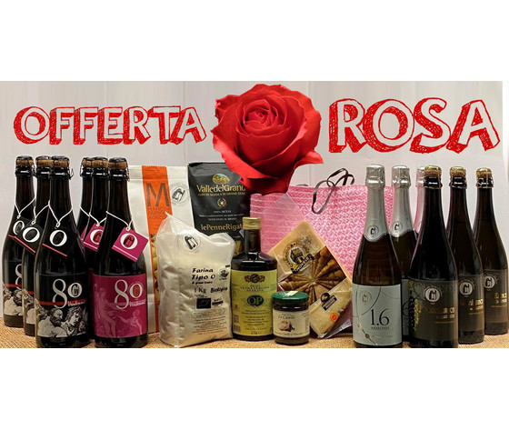cesto vini e prodotti alimentari