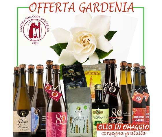 Offerta Gardenia con 1 olio in omaggio