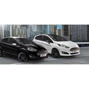 Autovettura FORD FIESTA MCA BLACK & WHITE 1.0 ECOBOOST 100CV BENZ
