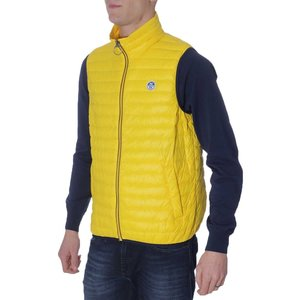 SMANICATO/GILET NORTH SAILS GIALLO