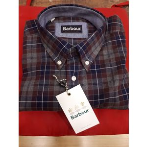 BARBOUR CAMICIA UOMO MANICA LUNGA TOM GREY