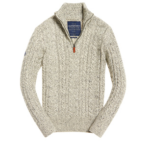 SUPERDRY  MAGLIONE JACOB HERITAGE HENLEY