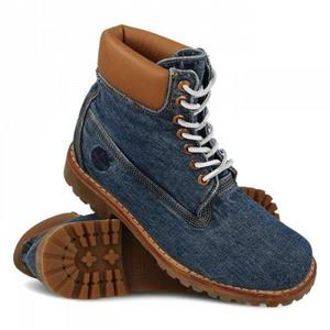TIMBERLAND SERIE LIMITATA DENIM BOOT BLU