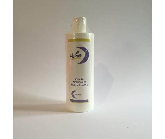 Olio da massaggio fisio al Limone 500ml