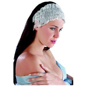 Fascia per capelli quattro elastici cf 100 pz
