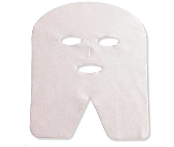 Maschera forma viso in spun lace cf 100 pz