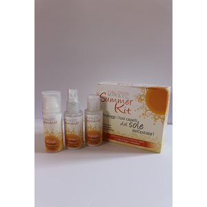 Kit Solare Shampoo doccia / Crema / Olio - SUMMER KIT