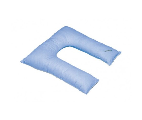 Cuscino Antidecubito in fibra cava siliconata a ferro di cavallo