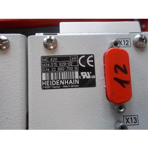 RIPARAZIONE HEIDENHAIN MC 420 ID.N. 515 929-02, PERMUTA HEIDENHAIN MC 420 ID.N. 515 929-02, FORNITURA HEIDENHAIN MC 420 ID.N. 515 929-02