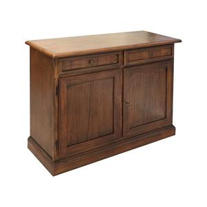 Credenza in legno, noce bassano, 105x45x85 h , Freeshipping