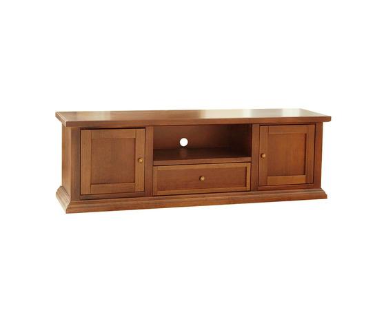 Mobile porta tv 160*40*50 h, in legno, colore noce chiaro ...