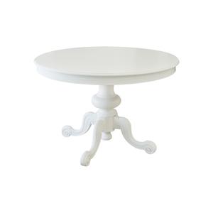 Tavolo diametro 100 cm, all 140x100 , bianco, Freeshipping