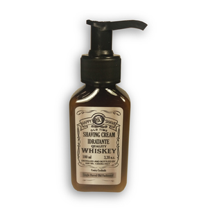 Happy Hour Shave - Whiskey Shaving cream idratante Single Barrel Fashioned 100ml