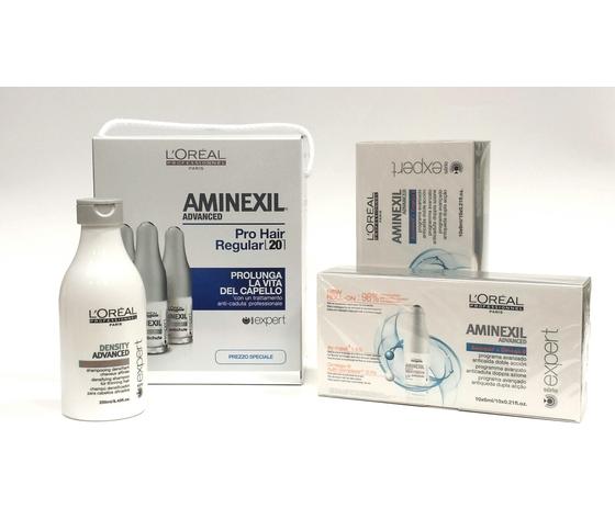 L'Oréal Serie Expert Aminexil Kit Shampoo + Lozioni