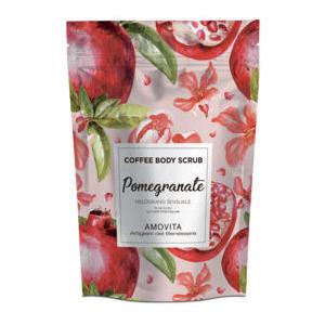 Amovita Coffe Scrub Melograno - Scrub corpo al caffè naturale al 100%
