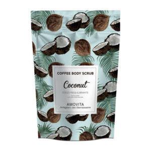 Amovita Coffe Scrub Cocco - Scrub corpo al caffè naturale al 100%