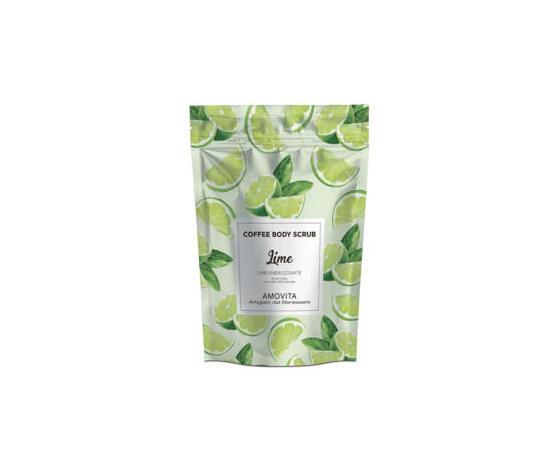 Amovita Coffe Scrub lime - Scrub corpo al caffè naturale al 100%