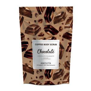 Amovita Coffe Scrub Cioccolato - Scrub corpo al caffè naturale al 100%