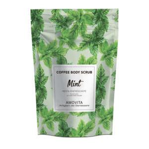 Amovita Coffe Scrub Menta - Scrub corpo al caffè naturale al 100%