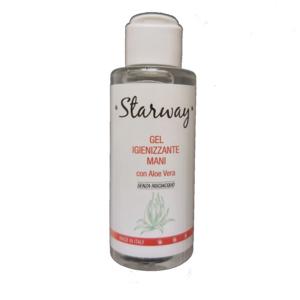 Starway gel igienizzante mani tascabile con Aloe Vera 100 ml - senza risciacquo
