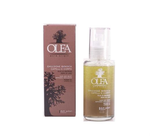 Emulsione Bifasica Capelli e Corpo Olio di Baobab e Semi di Lino Olea Dottor Solari 100 ml Spray