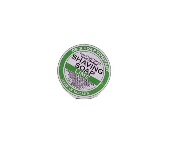 Dr K Beard Soap Shaving Soap Sapone da Rasatura Lime 70 g