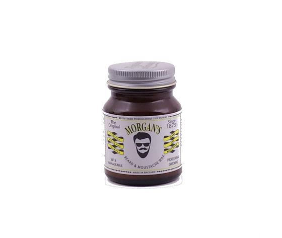 Morgan's Moustache and Beard Wax Cera per Barba e Baffi 50ml