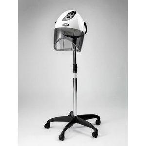 Casco Asciugacapelli Professionale B.M.P Onda 12 Colore Nero