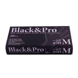 Guanti Riutilizzabili in Lattice Nero Black&Pro