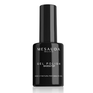 Mesauda Gel Polish Base Top 14 ml Base e Finitura per Smalto Gel