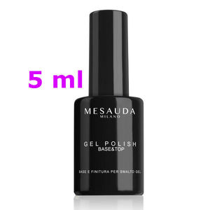 Mesauda Gel Polish Base Top  Base e Finitura per Smalto Gel 5 ml
