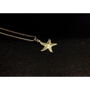 Collana Stella Marina Oro Giallo
