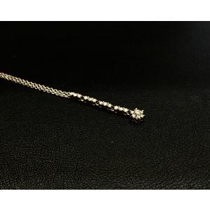 Collana Oro Bianco e Diamanti